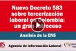 Análisis ENS Decreto 583