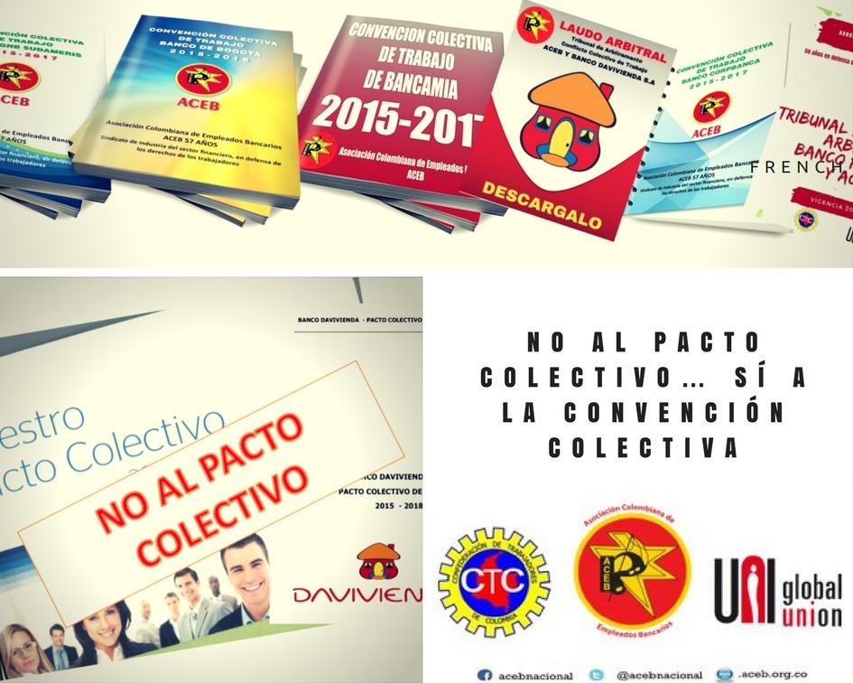 No al pacto colectivo… Sí a la Convención Colectiva