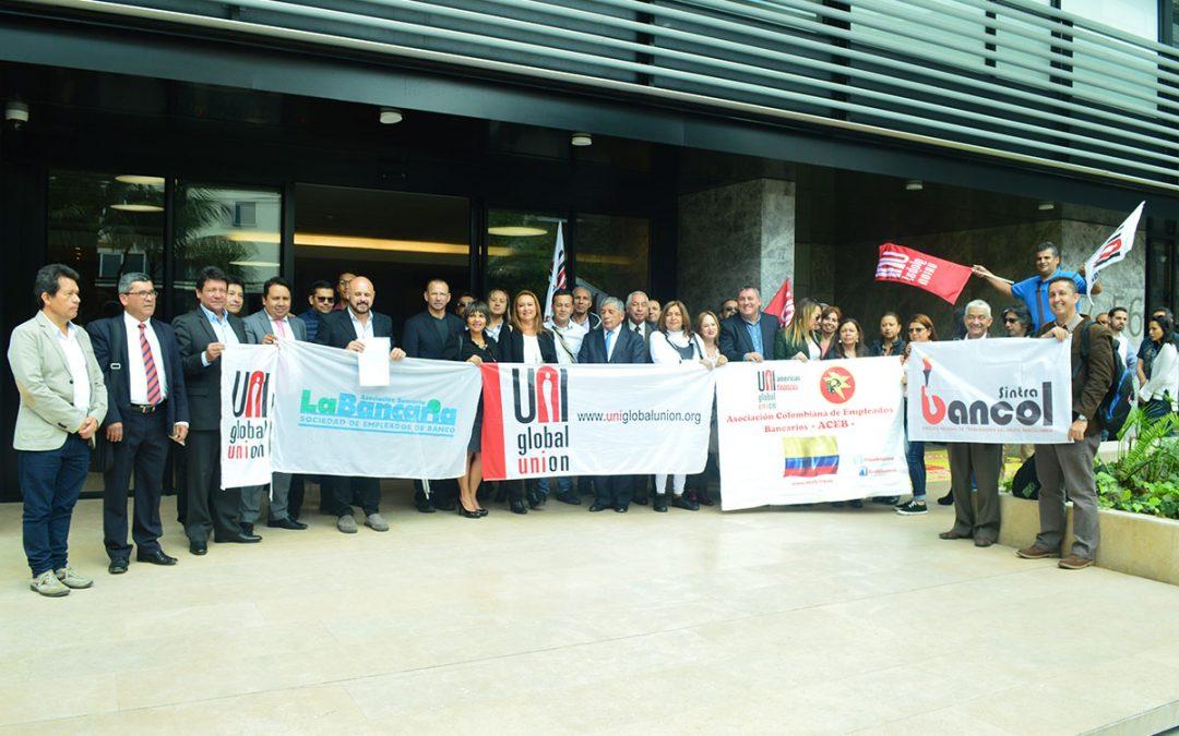 Los Trabajadores Bancarios en Colombia Apoyan a los Trabajadores bancarios de Argentina  que realizan huelga de 48 horas.