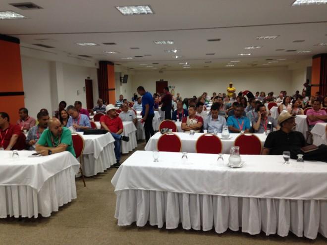 Asamblea Nacional de ACEB por trabajo digno y contratación colectiva