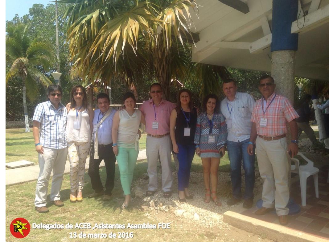 Total respaldo a ACEB de los trabajadores del Banco BBVA, en los fondos de empleados FOE y FEG
