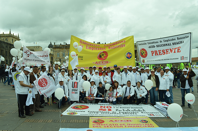 Así transcurrió la participación de ACEB el 1° de mayo , Día internacional de los trabajadores