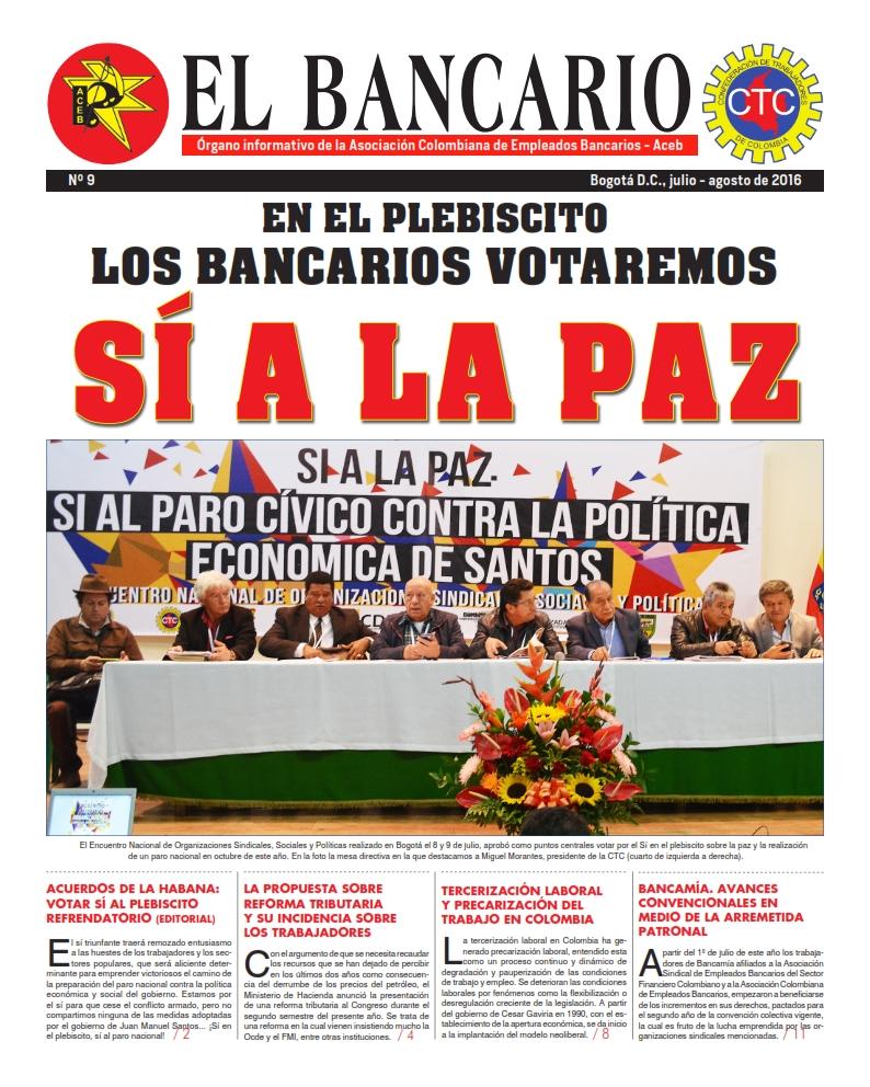 Periódico El Bancario, edición No.9