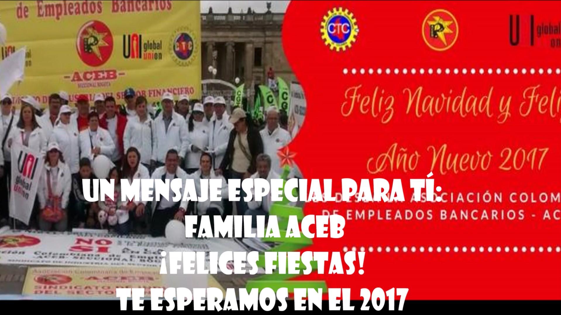 Un mensaje especial para ti, Familia ACEB