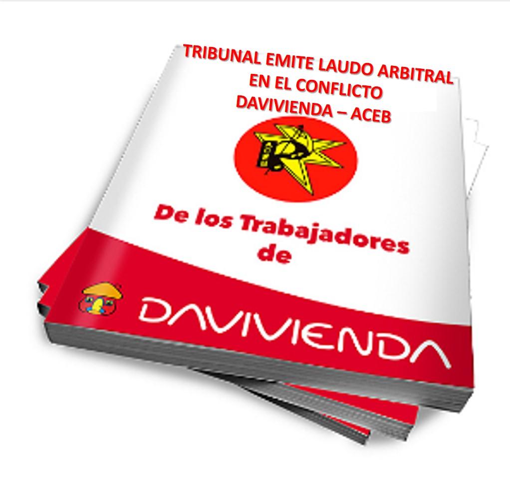 Tribunal emite laudo arbitral en el conflicto DAVIVIENDA – ACEB