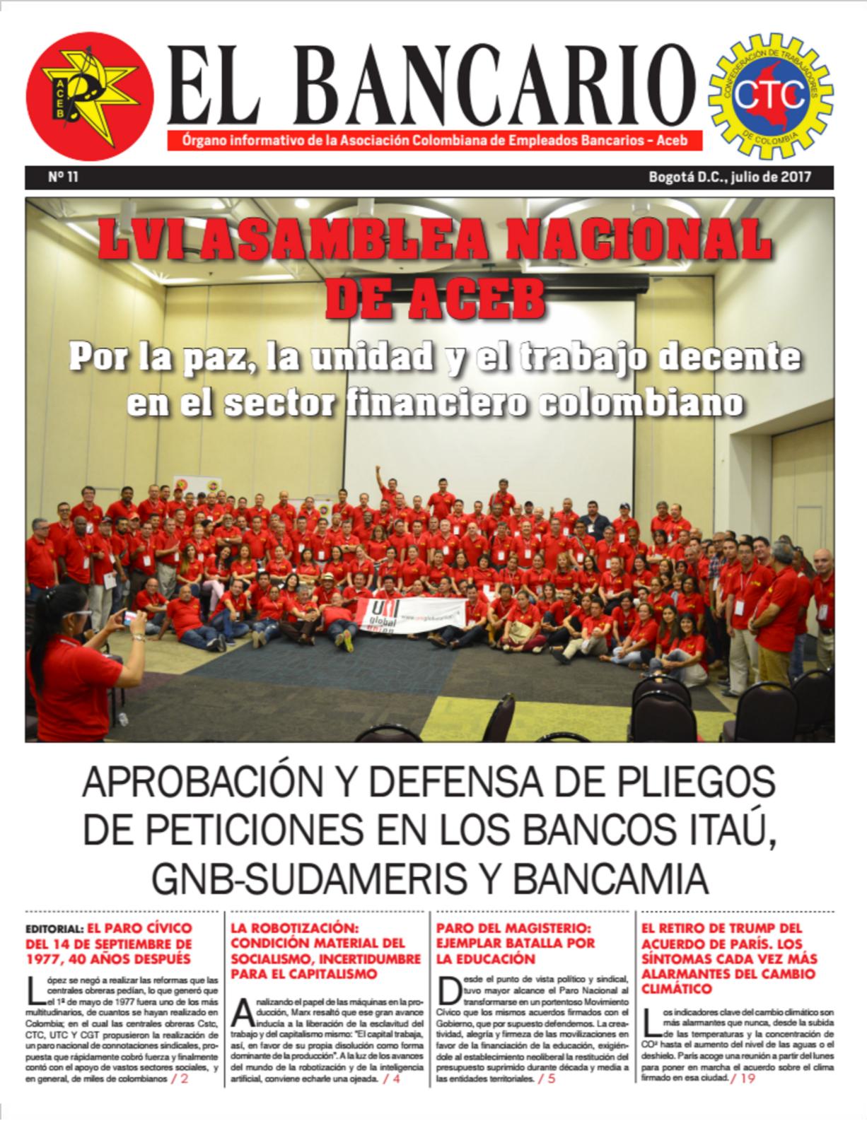 Periódico El Bancario , Edición No. 11