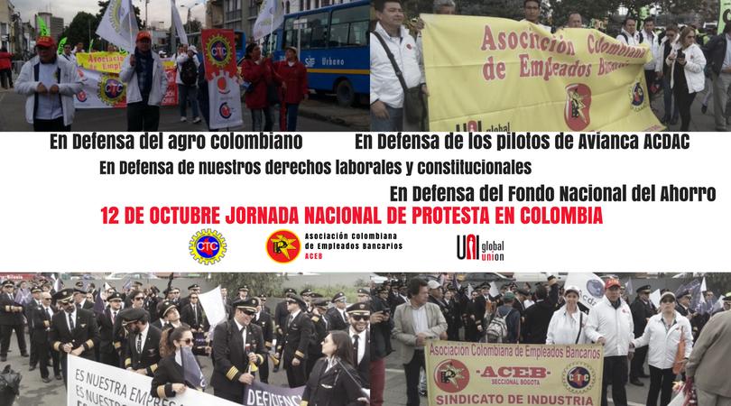 Participación de ACEB en la Jornada Nacional de Protesta