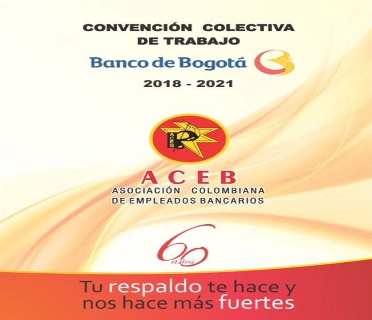 Convención Colectiva de Trabajo Banco de Bogotá 2018-2021