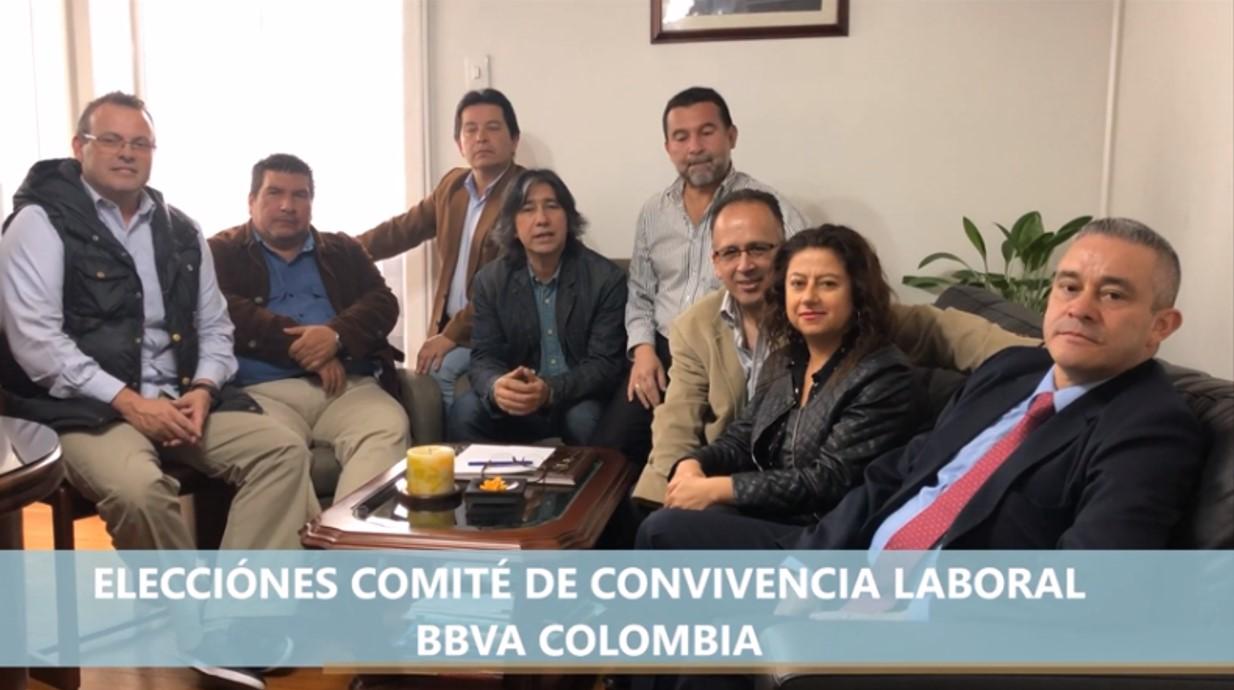 Elecciones Comitè de Convivencia Laboral en BBVA Colombia