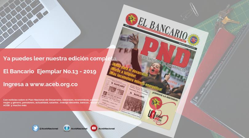 Periódico El Bancario – Edición No.13