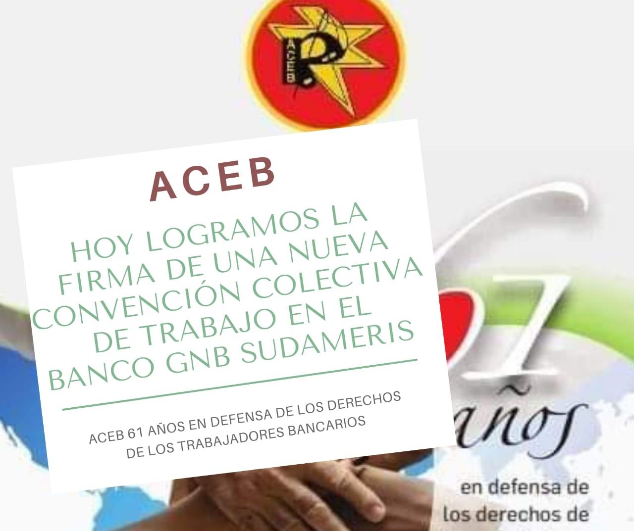 Firmada nueva Convenciòn Colectiva de Trabajo  en el Banco GNB Sudameris