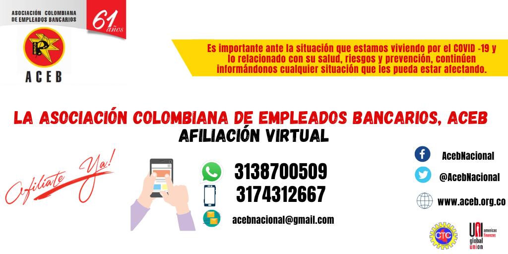 Afiliación virtual ACEB