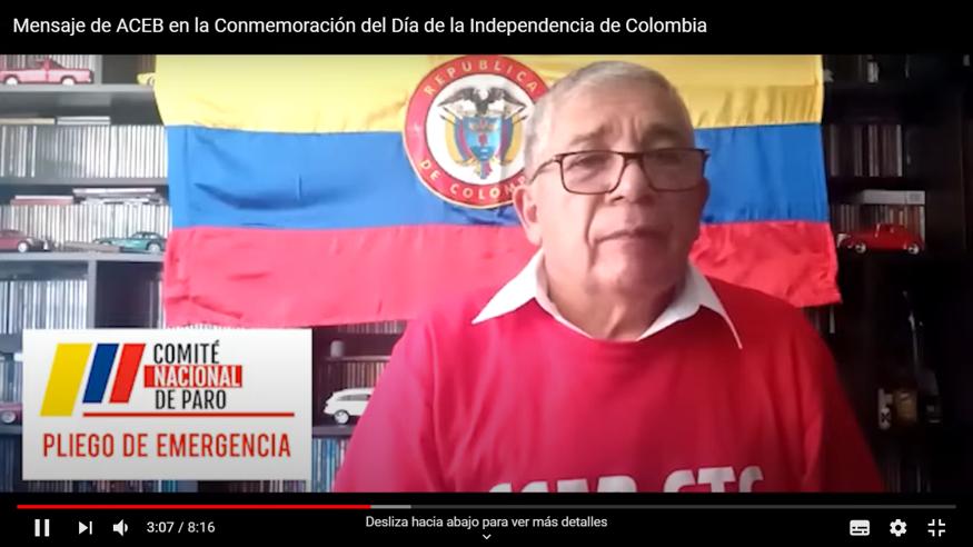 Mensaje de ACEB en la Conmemoración del Día de la Independencia de Colombia