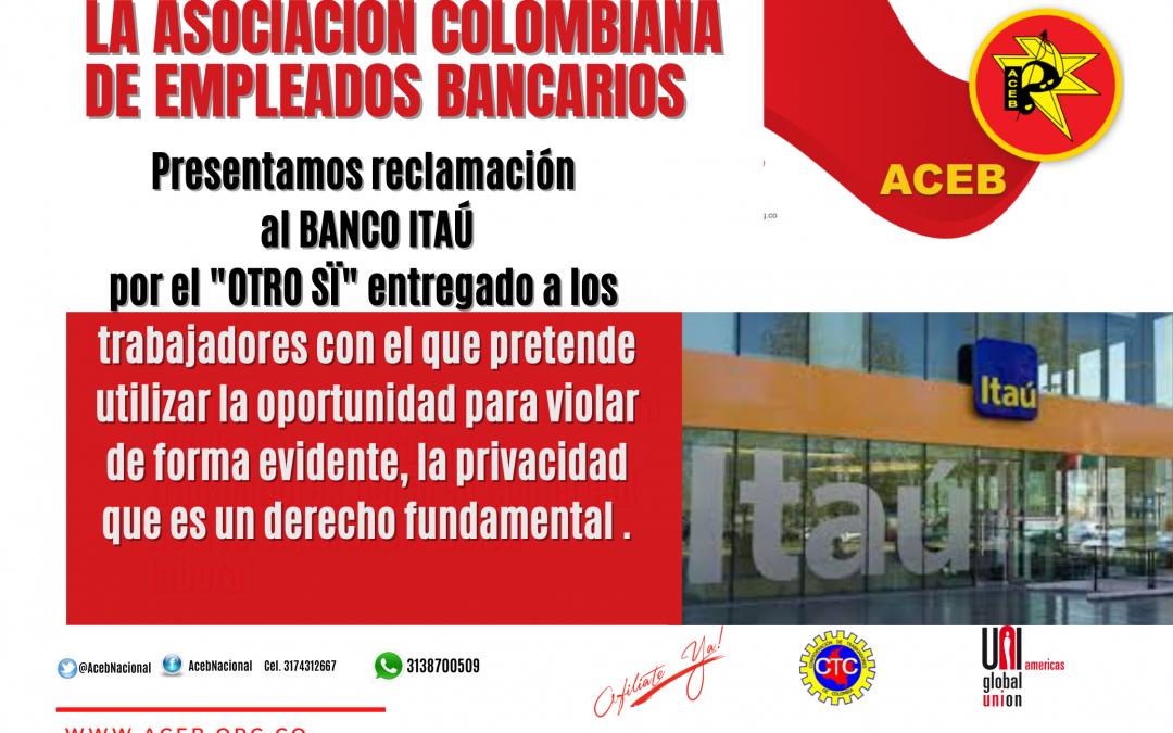 """ACEB reclama al Banco Itaú por la firma del """"Otro sí"""""""